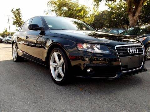 2012 Audi A4 for sale in Pompano Beach, FL