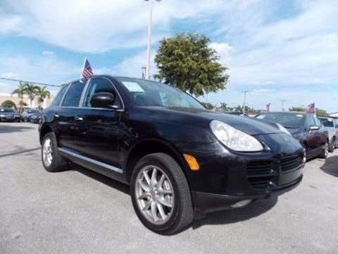 2004 Porsche Cayenne for sale in Pompano Beach, FL