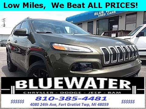 2016 Jeep Cherokee for sale in Fort Gratiot, MI