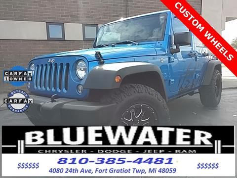 2016 Jeep Wrangler Unlimited for sale in Fort Gratiot, MI