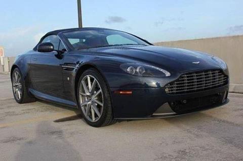 2014 Aston Martin V8 Vantage for sale in Davie, FL