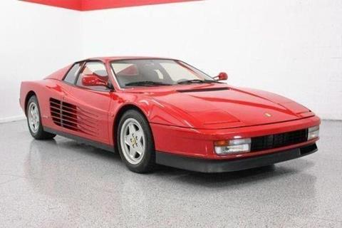 1990 Ferrari Testarossa for sale in Davie, FL