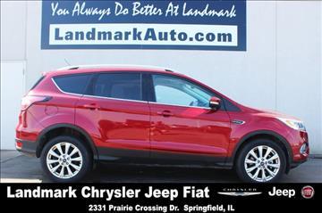 2017 Ford Escape for sale in Springfield, IL