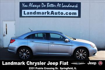 2013 Chrysler 200 for sale in Springfield, IL