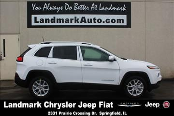 2017 Jeep Cherokee for sale in Springfield, IL