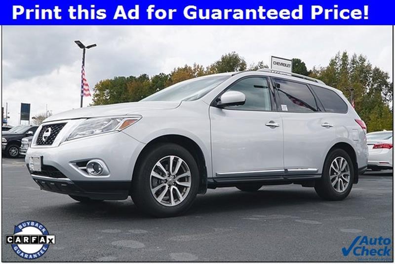 Nissan Of Roanoke Rapids >> 2015 Nissan Pathfinder Sl 4dr Suv In Roanoke Rapids Nc