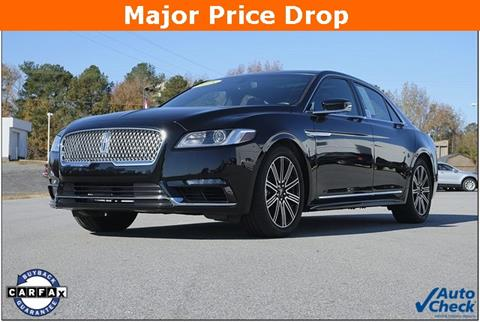 2018 Lincoln Continental for sale in Roanoke Rapids, NC