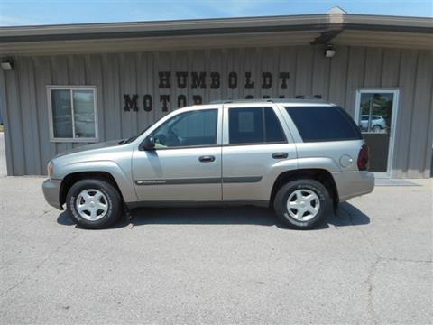 2003 Chevrolet TrailBlazer for sale in Humboldt IA