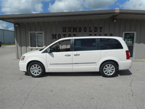 2012 Chrysler Town and Country for sale in Humboldt, IA