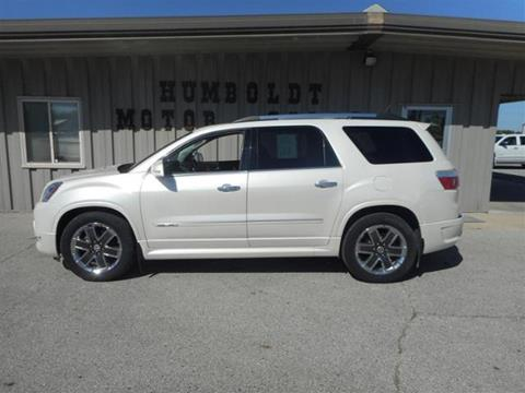 2012 GMC Acadia for sale in Humboldt IA