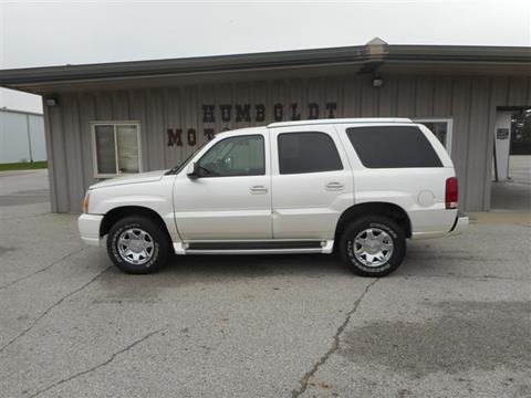 2004 Cadillac Escalade for sale in Humboldt IA