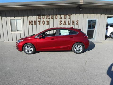 2017 Chevrolet Cruze for sale in Humboldt, IA