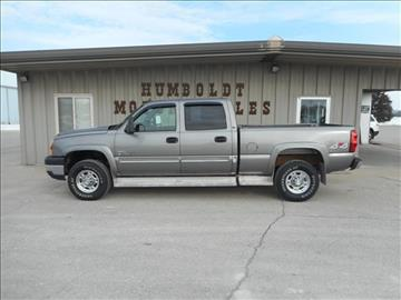 2006 Chevrolet Silverado 2500HD for sale in Humboldt, IA