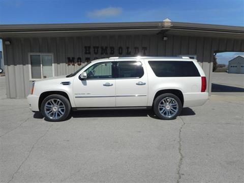 2014 Cadillac Escalade ESV for sale in Humboldt, IA