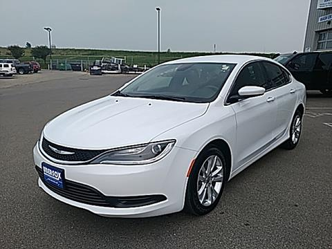 2017 Chrysler 200 for sale in Monroe, WI