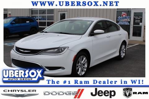 2015 Chrysler 200 for sale in Monroe, WI