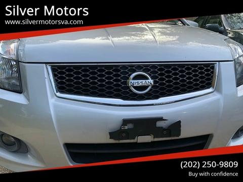 2012 Nissan Sentra 2 0 SR 4dr Sedan In Fredericksburg VA