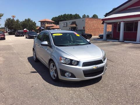 Used Cars Fayetteville Nc >> 2015 Chevrolet Sonic For Sale In Fayetteville Nc
