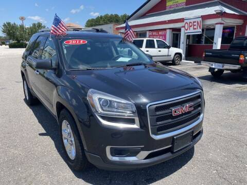 2014 GMC Acadia SLE-2 for sale at Sell Your Car Today in Fayetteville NC