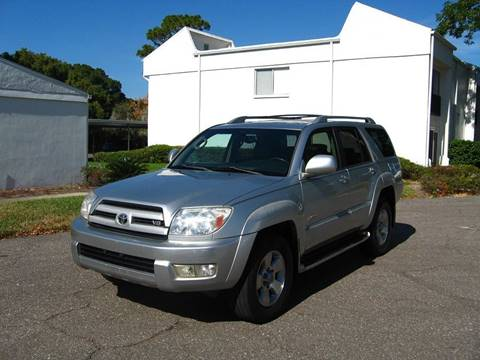 2003 Toyota 4Runner for sale in Clearwater, FL
