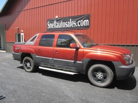 2003 Chevrolet Avalanche for sale in Wysox, PA