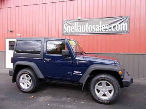 2013 Jeep Wrangler for sale in Wysox, PA
