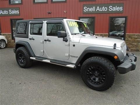2011 Jeep Wrangler Unlimited for sale in Wysox, PA