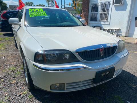2004 Lincoln LS for sale at GRAND USED CARS  INC in Little Ferry NJ