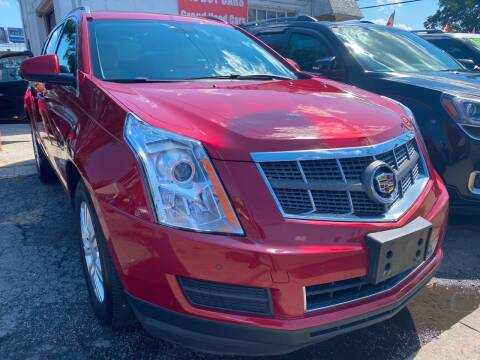 2011 Cadillac SRX for sale at GRAND USED CARS  INC in Little Ferry NJ