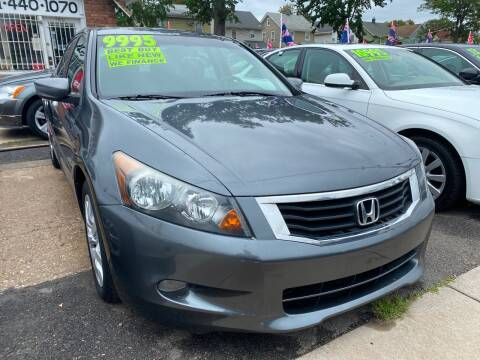 2008 Honda Accord for sale at GRAND USED CARS  INC in Little Ferry NJ