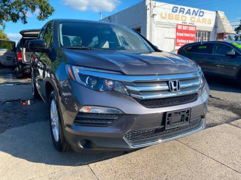 2017 Honda Pilot for sale at GRAND USED CARS  INC in Little Ferry NJ