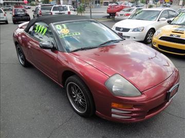 2001 Mitsubishi Eclipse Spyder for sale in Azusa, CA