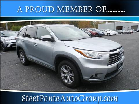 2015 Toyota Highlander for sale in Johnstown, NY