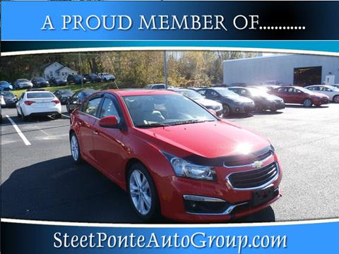 2015 Chevrolet Cruze for sale in Johnstown, NY