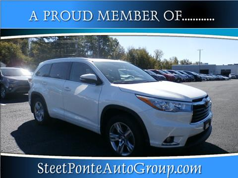 2016 Toyota Highlander for sale in Johnstown, NY