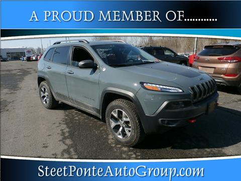 2015 Jeep Cherokee for sale in Johnstown, NY