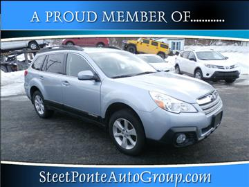 2014 Subaru Outback for sale in Johnstown, NY
