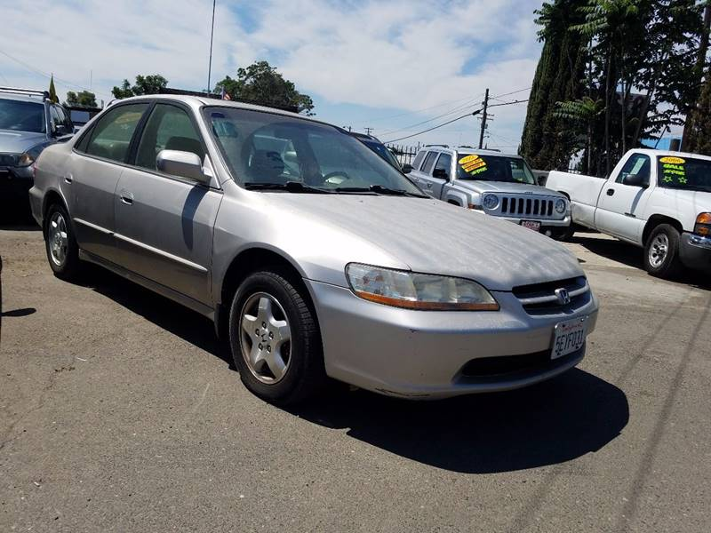 1998 Honda Accord Ex V6 4dr Sedan In Modesto Ca Star Auto Sales