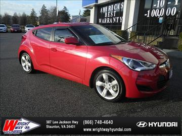 2015 Hyundai Veloster for sale in Staunton, VA