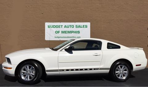 2007 Ford Mustang for sale in Memphis, TN