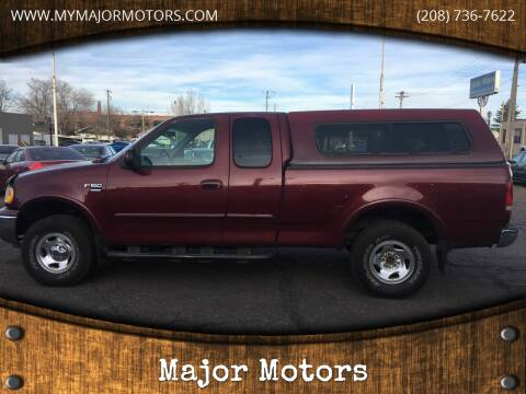 1999 Ford F-150 for sale at Major Motors in Twin Falls ID