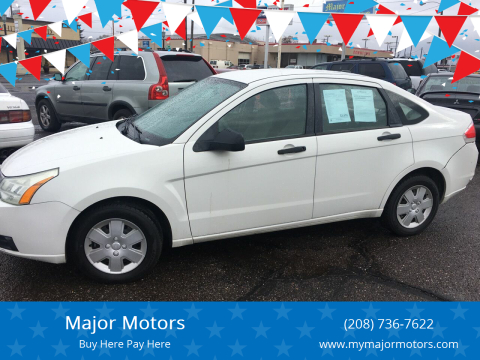 2011 Ford Focus for sale at Major Motors in Twin Falls ID