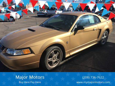 2000 Ford Mustang for sale at Major Motors in Twin Falls ID