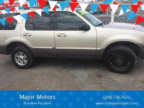 2004 Mercury Mountaineer for sale at Major Motors in Twin Falls ID