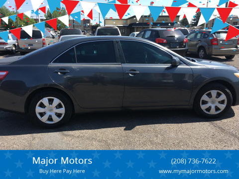 2008 Toyota Camry for sale at Major Motors in Twin Falls ID