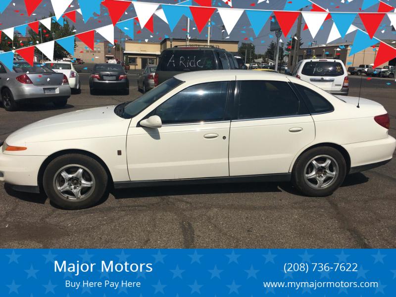 2001 Saturn L-Series for sale at Major Motors in Twin Falls ID