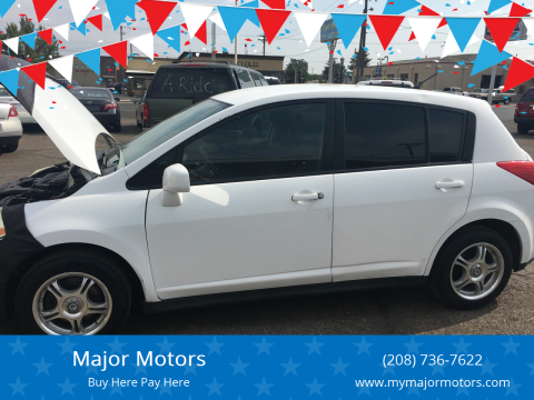 2007 Nissan Versa for sale at Major Motors in Twin Falls ID