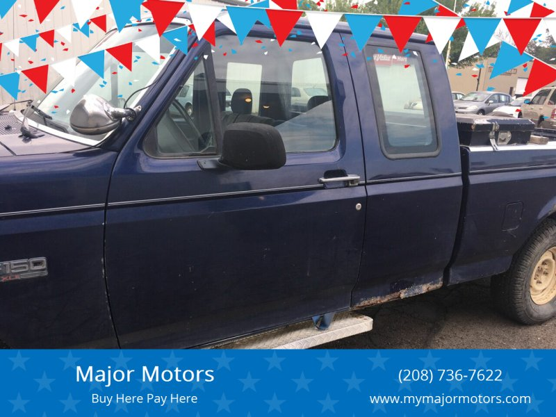 1994 Ford F-150 for sale at Major Motors in Twin Falls ID