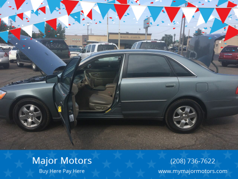 2002 Toyota Avalon for sale at Major Motors in Twin Falls ID