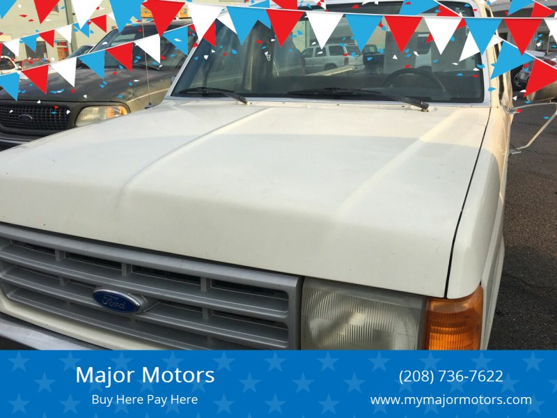 1990 Ford F-150 for sale at Major Motors in Twin Falls ID
